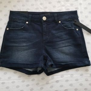 Brand New! Dark denim Tinsel shorts